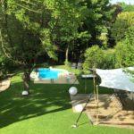 Villattitude: Bar de la piscine et jardin