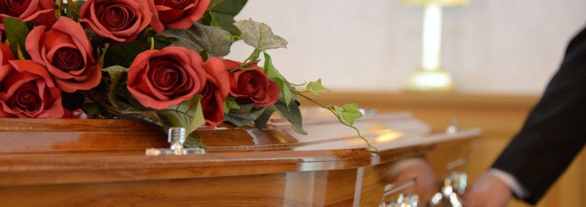 Réception après obsèques et enterrement